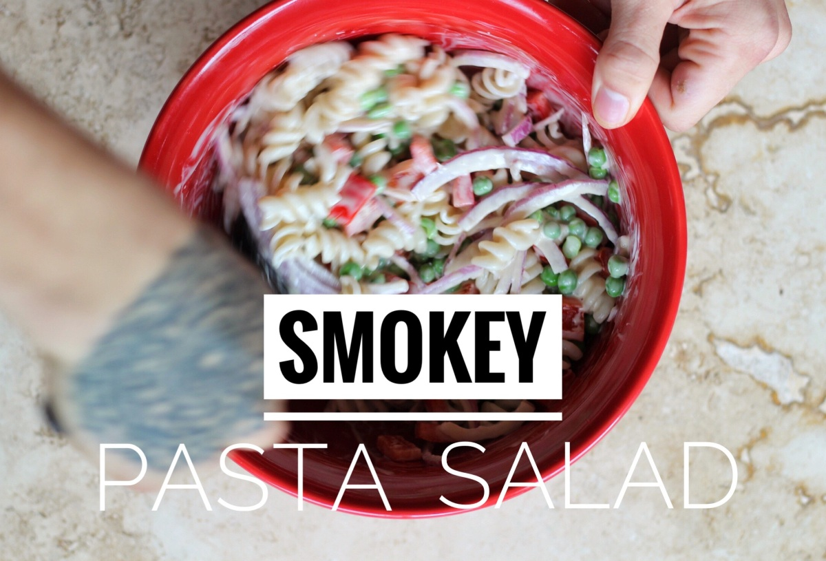 Smoky Pasta Salad Vegan Gf No Eggs Or Ham