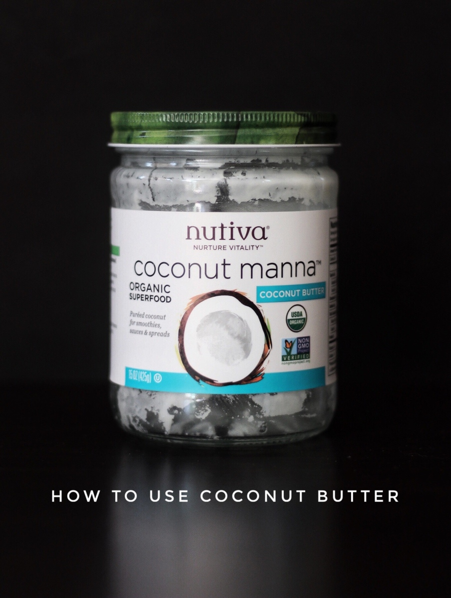 How to Use Coconut Butter (make coconut milk or cream in 30 seconds)
