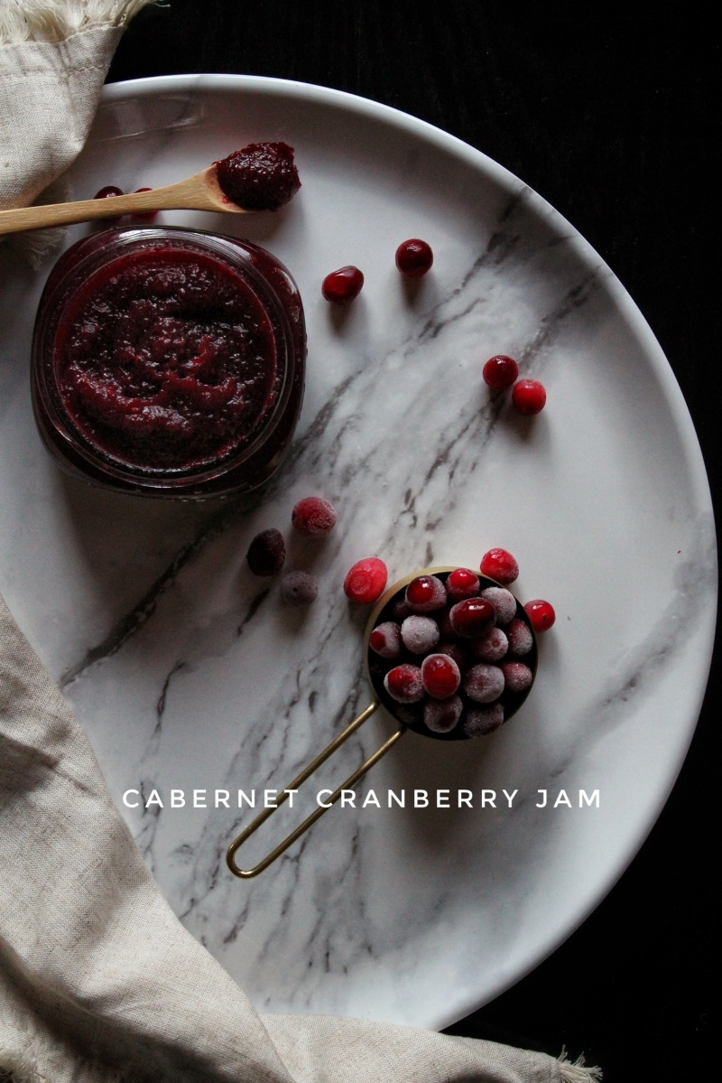 Cabernet Cranberry Jam (sweetened with xylitol)