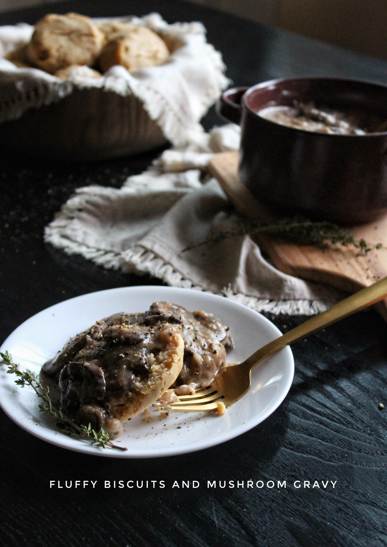 Mushroom-Thyme Gravy