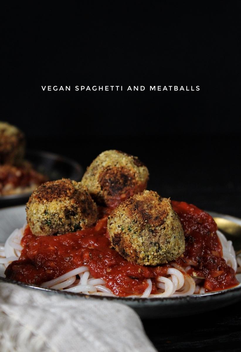 Vegan Spaghetti & Meatballs (lectin-free & gluten-free)