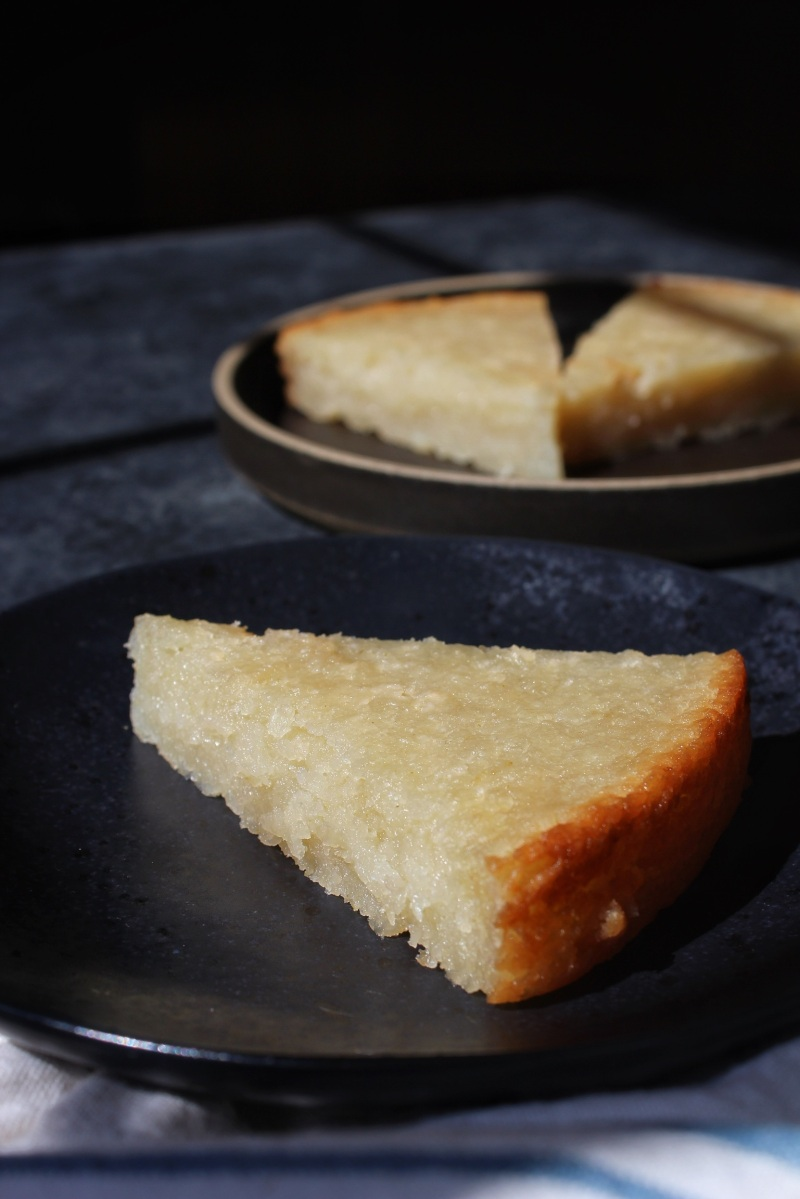 Rich & Sweet Cassava Cake - Banh Khoai Mi (Plant Paradox-friendly, sugar-free, and vegan)