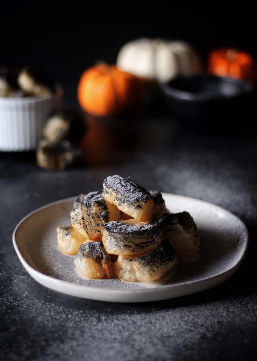 Crisp & Flakey Puff Pastry Beignets (vegan)